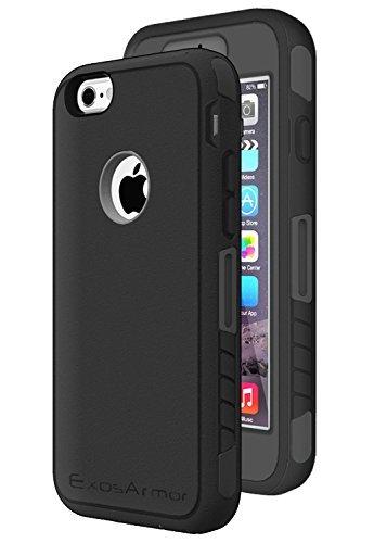 Slim Dual Pro Slim Case for Apple iPhone 6 Plus (Black) - 6
