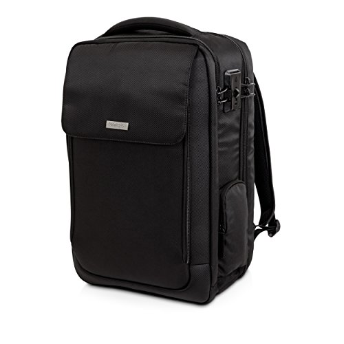 Kensington SecureTrek 17'' Lockable Anti-Theft Laptop & Overnight Backpack (K98618WW) by Kensington