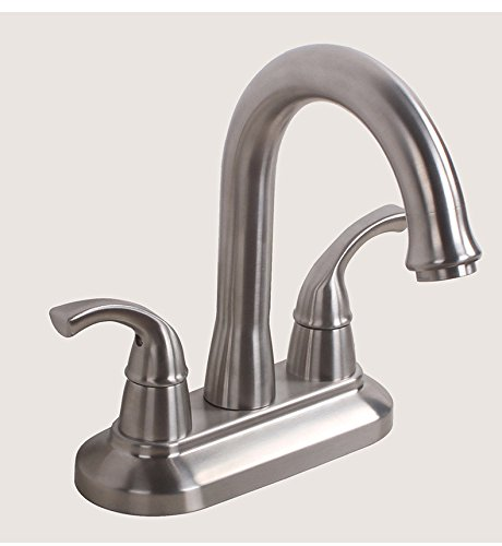LHbox Basin Mixer Tap Bathroom Sink Faucet Hot and cold water faucets 304 Stainless Steel Bathroom Cabinet Basin