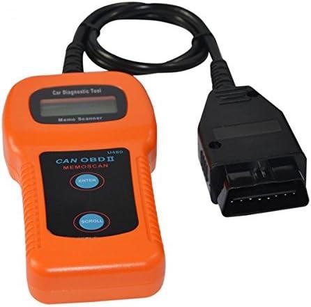U480 OBD2 OBDII CAN BUS Code Reader Engine Scanner Car Diagnostic Interface