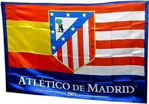 BANDERA ATLETICO DE MADRID 150x100 CM: Amazon.es: Deportes y aire libre