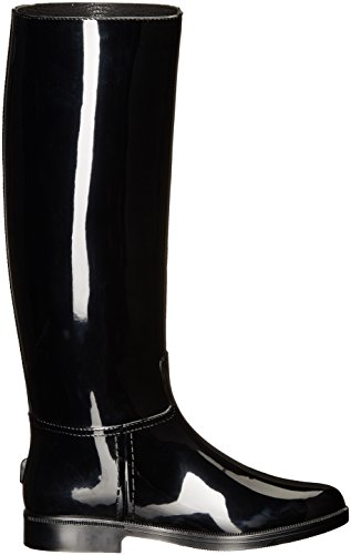 Armani Jeans Kvinners Jeans Regn Boot Sort