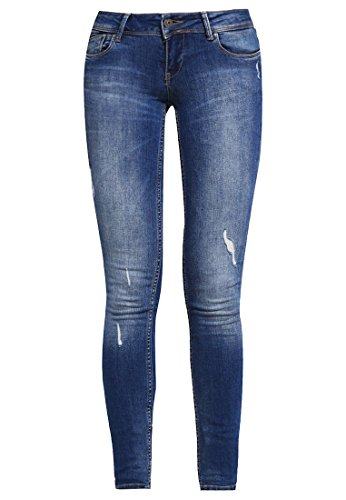 ONLY ONLCORAL Damen Jeans Skinny Fit - medium blue denim Gr. W28 L30