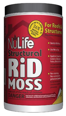 Waupaca Northwoods WNL03029 5LB NuLife Rid Moss Structural - Quantity 1