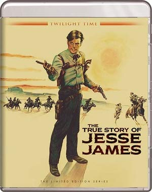 The True Story Of Jesse James - Twilight Time [1957] Blu-ray (The True Story Of Jesse James 1957)