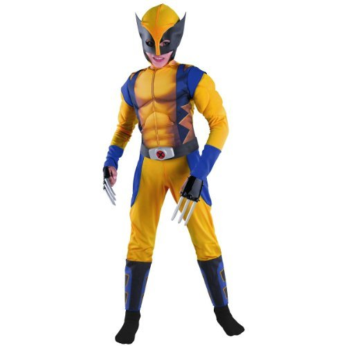 Child Wolverine Muscle Costume - Small -