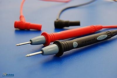 Multimeter Test Probes / Leads - Fluke style 1kV 20A