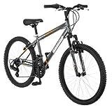 24 Roadmaster Granite Peak Boys Mountain Bike (24 Inches (Wheel Diameter), Black) (Black)