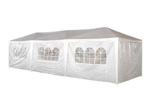 10 x 30 Palm Springs Wedding Party Tent Gazebo Canopy and Sidewalls, Outdoor Stuffs