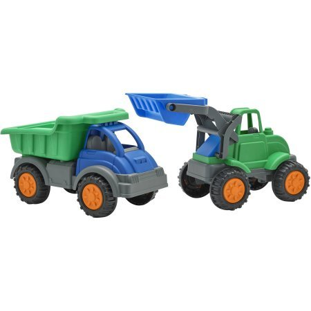 American Plastic Toys Groundbreakerz Play Vehicles, 2pk