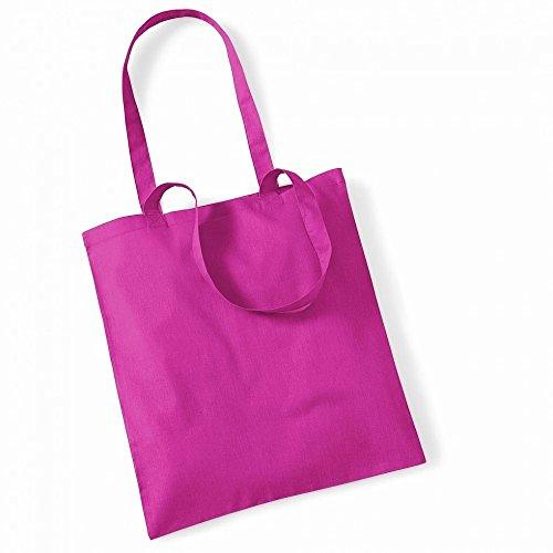 """Westford Mill- Promoción bolsa básica """"Bolsa para la vida""""- capacidad 10 litros multicolor - Fuchsia"""