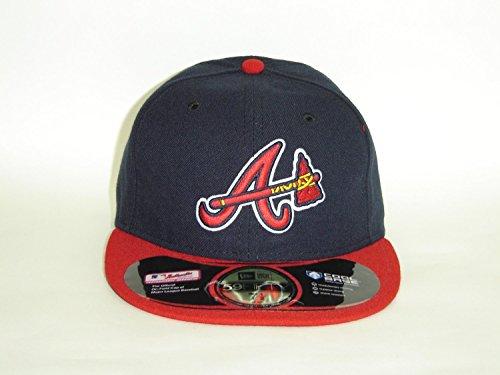New Era MLB Atlanta Braves Authentic On Field Alternate Tomahawk 59fifty Select Cap Size: 7 1/2
