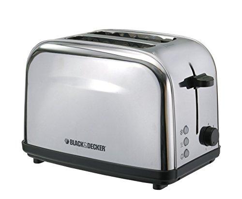 Black+Decker 2 Slice Cool Touch Bread Toaster, White – ET222-B5, 2 Year Warranty