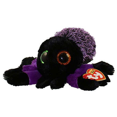 - Ty Beanie Boos 37248 Creeper the Purple Spider Boo