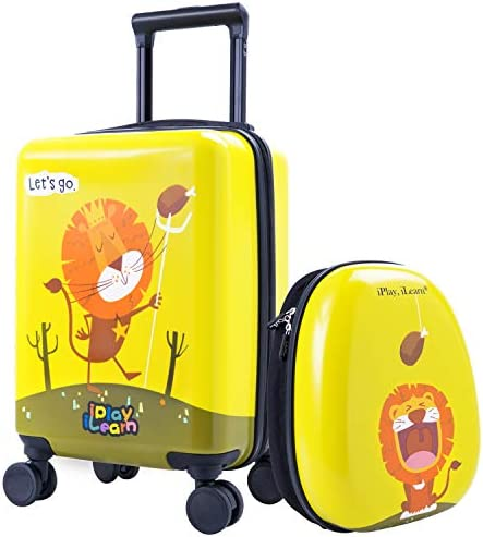 Spinner Luggage Upright Rolling Suitcase