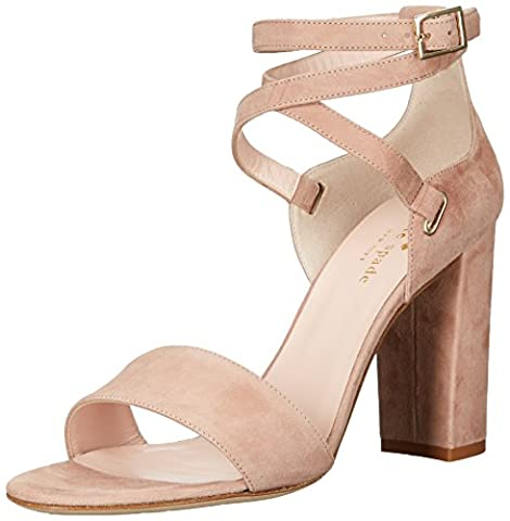 kate spade new york Women's Isolde Heeled Sandal, Fawn, 5 M US - Fawn Footwear