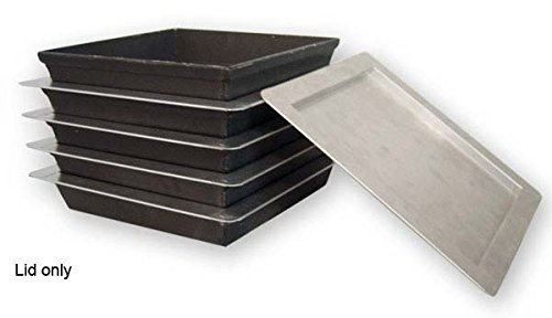 LloydPans 10x10 Sicilian Style Lids, case of 12. Fits Sicilian Pan 10x10 by LloydPans