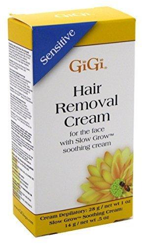 GIGI gg-340 hair removing cream, 1 oz, White 0340
