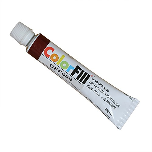 Cal-Flor CF41638 Color-Matched Repair Putty, Brazilian - Brazilian Prefinished Cherry