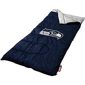 NFL Seattle Seahawks Sleeping Bag, Large, Team Color