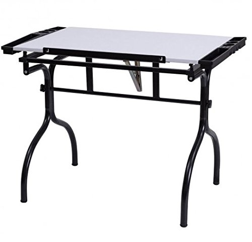 SKB Family Adjustable Folding Drafting Table Drawing Desk by SKB Family