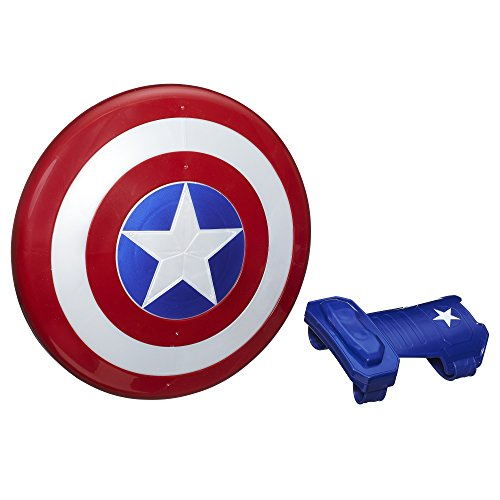 Marvel Captain America Magnetic Shield & Gauntlet ()