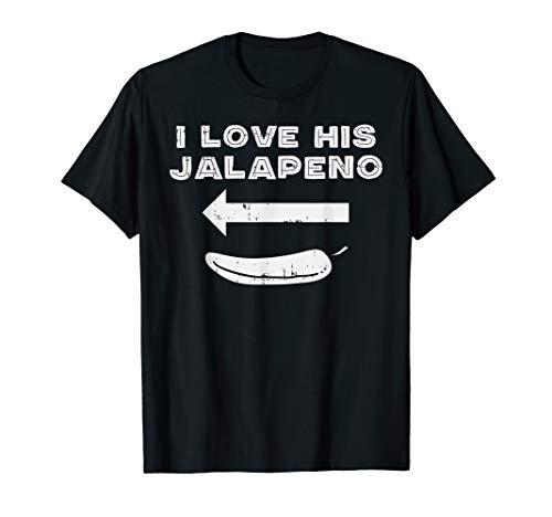 Cinco De Mayo Matching Couple Love His Jalapeno Women Girl -