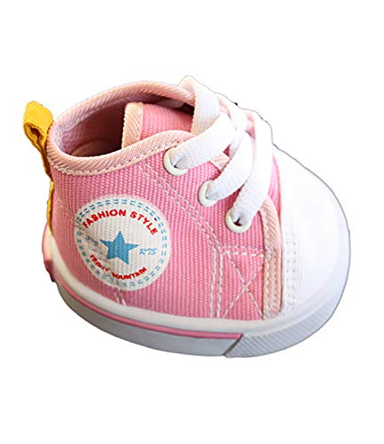 Pink Star Tennis Shoes Teddy Bear Clothes Fits Most 14