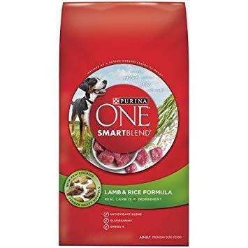 Cheap Purina ONE SmartBlend Lamb & Rice Formula Premium Dog Food 4 lb. Bag