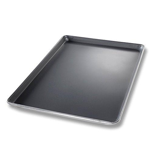 "Chicago Metallic 40808 StayFlat Full-size Sheet Pan, 1"" Deep, AMERICOAT Glazed 18-ga. Aluminum"