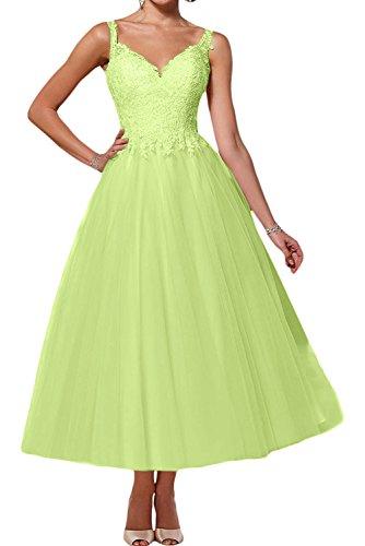 mujer Vestido para Verde trapecio Topkleider tawFx44q