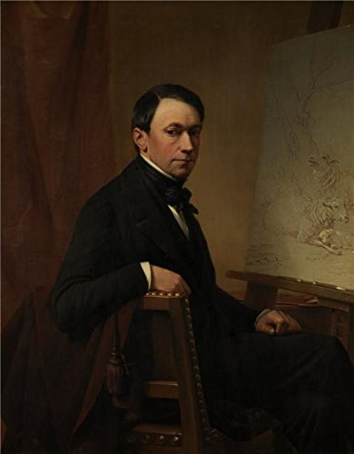 [The High Quality Polyster Canvas Of Oil Painting 'Self Portrait By Eugene Joseph Verboeckhoven, 1854' ,size: 12x15 Inch / 30x39 Cm ,this Cheap But High Quality Art Decorative Art Decorative Prints On Canvas Is Fit For Hallway Artwork And Home Artwork And Gifts] (War Machine Costume Tutorial)
