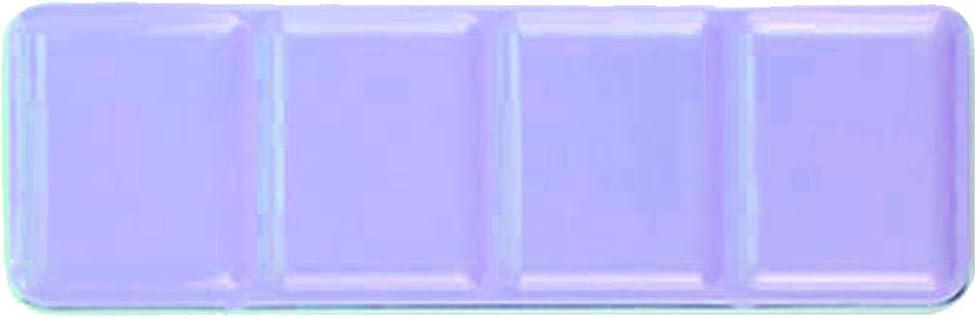 Desconocido Paleta de Acuarela vacía/Caja de Pintura Metal Pintura Acuarela sólida Pintura vacía Caja 48 Rejilla Acuarela Caja de Lata vacía: Amazon.es: Hogar