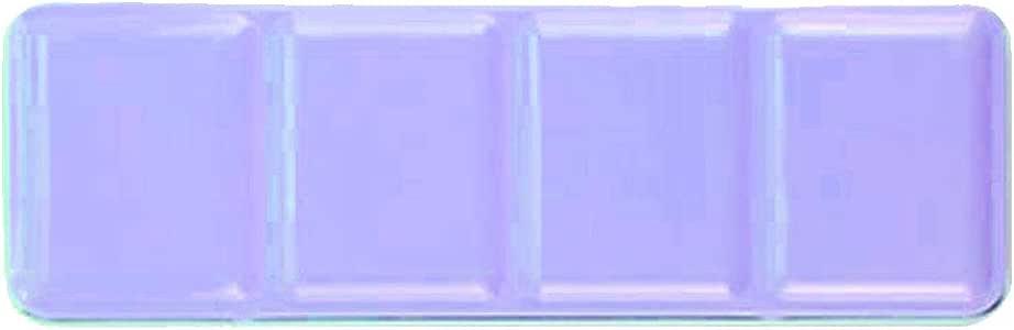 Desconocido Paleta de Acuarela vac/ía//Caja de Pintura Metal Pintura Acuarela s/ólida Pintura vac/ía Caja 48 Rejilla Acuarela Caja de Lata vac/ía