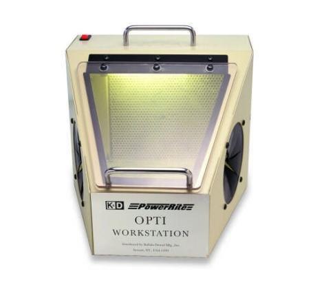 Buffalo Dental 36560 Optic Workstation with Suction, Light, 120V AC