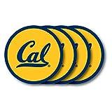 Duck House NCAA California - Berkeley Golden Bears Vinyl Coaster Set (Pack of 4)
