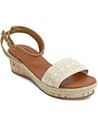 Girl Paisley Wedges