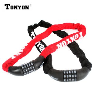 TONYON ダイヤル式チェーンロック(ダイヤル5桁)