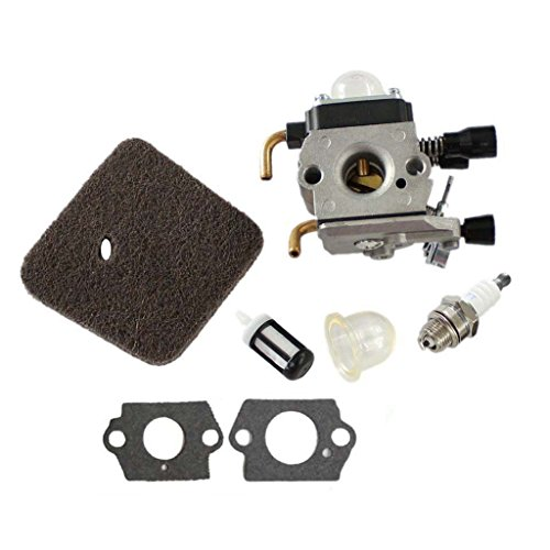 HURI Carburetor with Air Filter for Stihl HS45 Hedge Trimmer FC55 FS310 C1Q-S169 42281200608