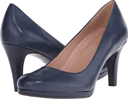 Naturalizer Women's Michelle Classic Navy Leather 6 WW US
