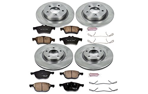 Autospecialty (KOE126) 1-Click OE Replacement Brake Kit ()