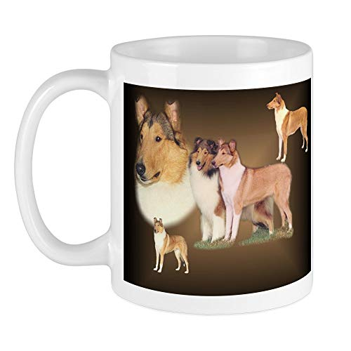 CafePress Rough And Smooth Collie Gifts Mug Unique Coffee Mug, Coffee Cup