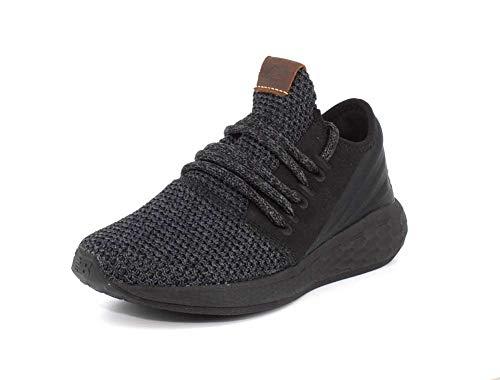 New Balance Women's Cruz V2 Fresh Foam Running Shoe, Black/Magnet/Nimbus Cloud
