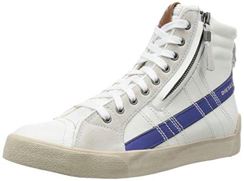 DIESEL - Baskets basses - Homme - Baskets Pr Hautes Blanches Et Bleu D-string Plus pour homme