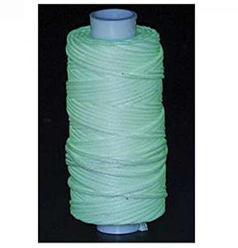 Tandy Leather Waxed Braided Cord 25 yds. (22.9 m) Glow in the Dark 11210-40