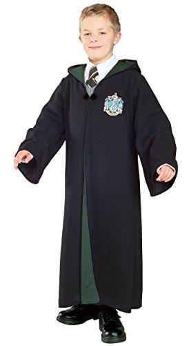 [Deluxe Slytherin Robe Child] (Hogwarts Robe Costumes)