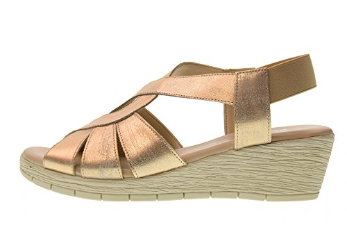 The Flexx Damenschuhe Keil Sandalen 14401_13 AMARONES Oro Gold