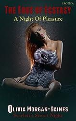 The Edge of Ecstasy - Scarlett's Secret Night (A BDSMerotica Submissive Romance Series): A Tempting Erotica Episode