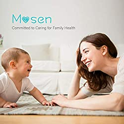 Mosen Thermometer for Fever Ear and Forehead Thermometer for Baby, Kid and Adult 4 Modes Digital Medical Infrared Thermometer for Body, Surface and Room