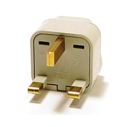 VCT VP 102 VP102 Adapter USA to UK Plug, Ivory